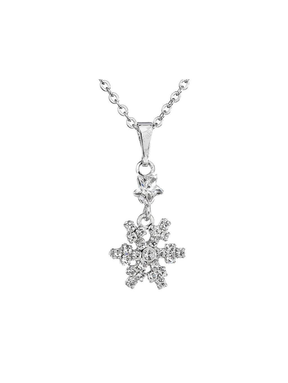 Náhrdelník Vločka s kameny Swarovski® Crystal