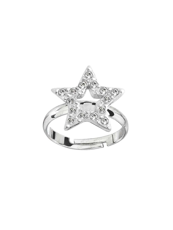 Prsten Hvězda s kameny Swarovski® Crystal