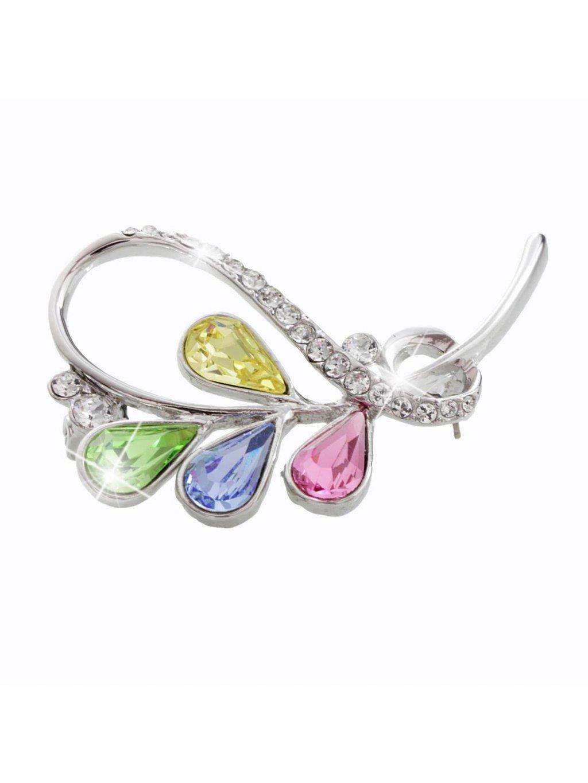 Brož s kameny Swarovski® Multicolor J61600316multi