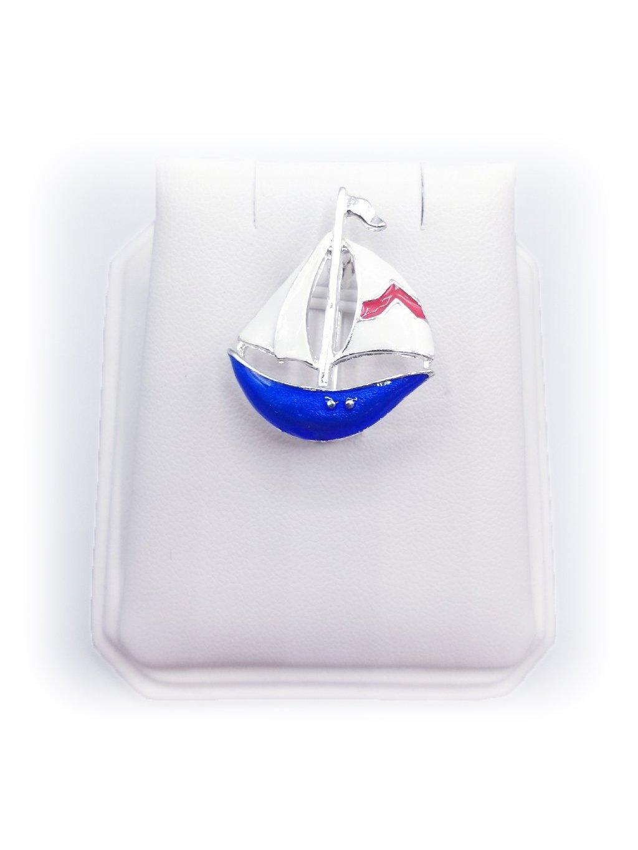 Brož plachetnice