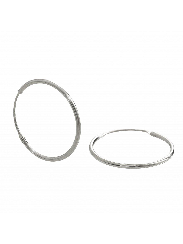 J92400295crStříbrné náušnice kruhy