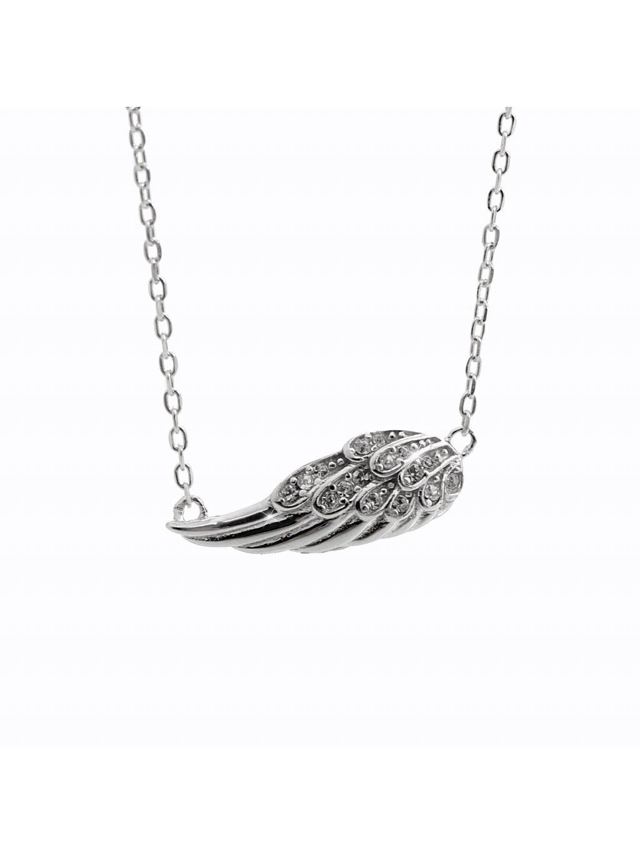 92300333crStříbrný náhrdelník křídlo anděla