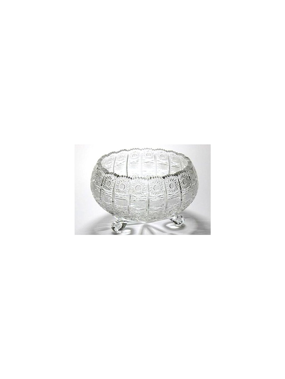 Křišťálová mísa brus 30,5 cm 40011