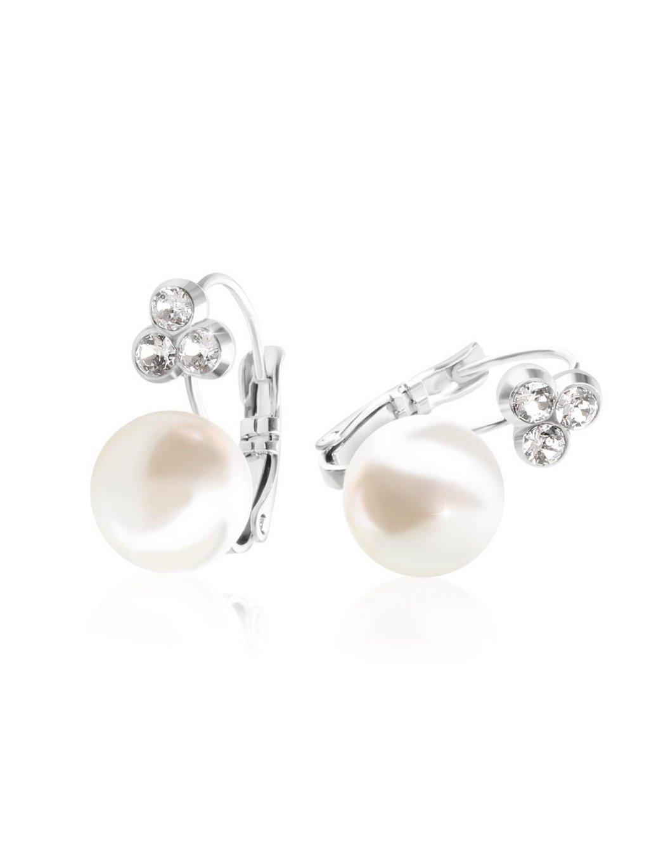 610 nausnice s perlou swarovski