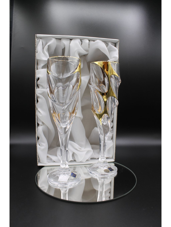 3750 kristalove sklenice sekt calypso 2ks