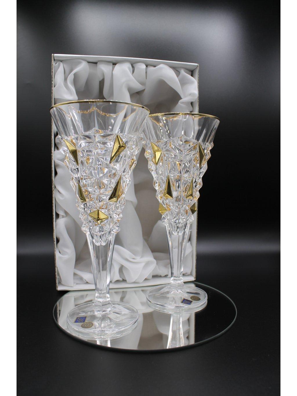 3765 kristalove sklenice sekt mensi glacier 2ks