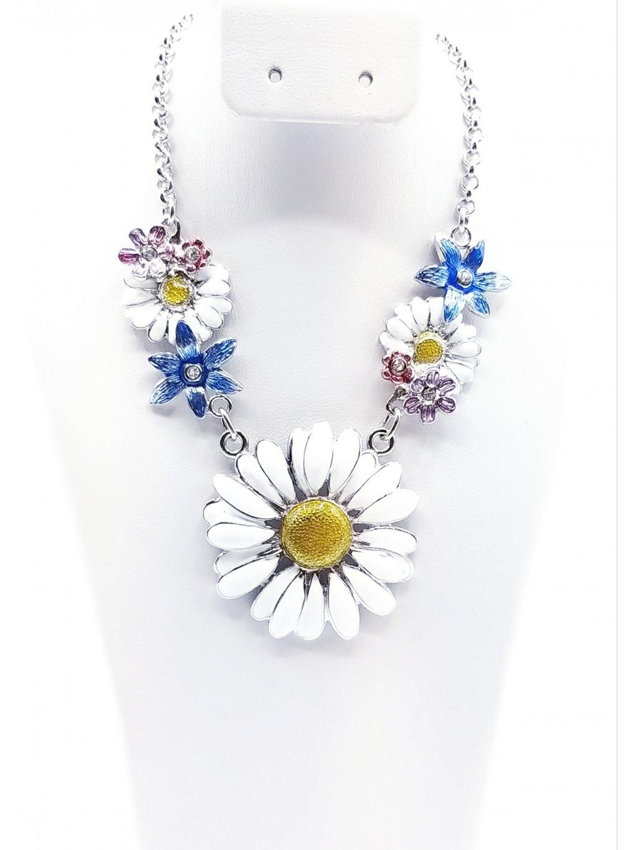 Kopretinový náhrdelník