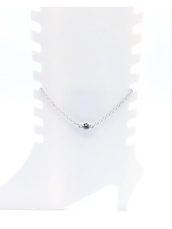 J61500639Řetízek na nohu s crystalem Swarovski