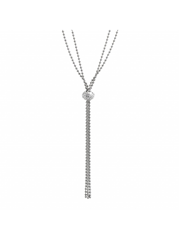 Náhrdelník kuličkový s kamínky Swarovski® Crystal 61300721cr