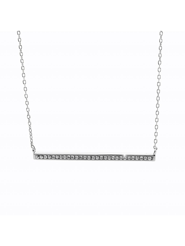92300357crStříbrný náhrdelník Linka Swarovski crystal