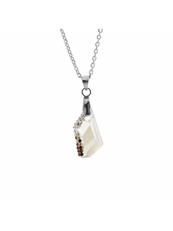 Náhrdelník Krystal Swarovski® Gold Shadow 61300751gsh