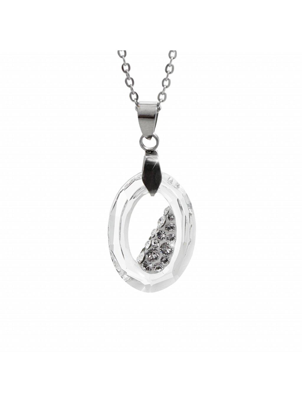 Náhrdelník Óčko Swarovski® Crystal 22 mm 61300756cr