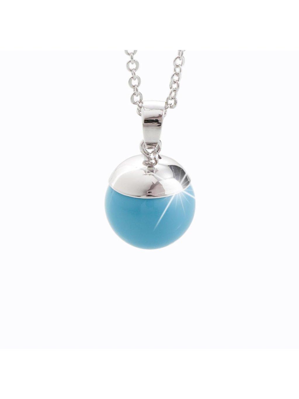 Náhrdelník Perla Swarovski® Turquoise pearl