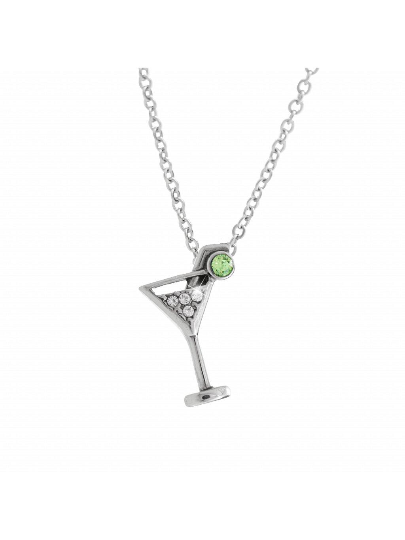 Náhrdelník Sklenka Martini Swarovski® Crystal 61300822cr