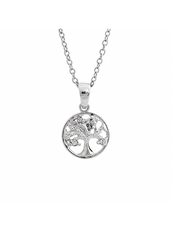 Náhrdelník Rozkvetlý strom života Swarovski® Crystal 61300826cr