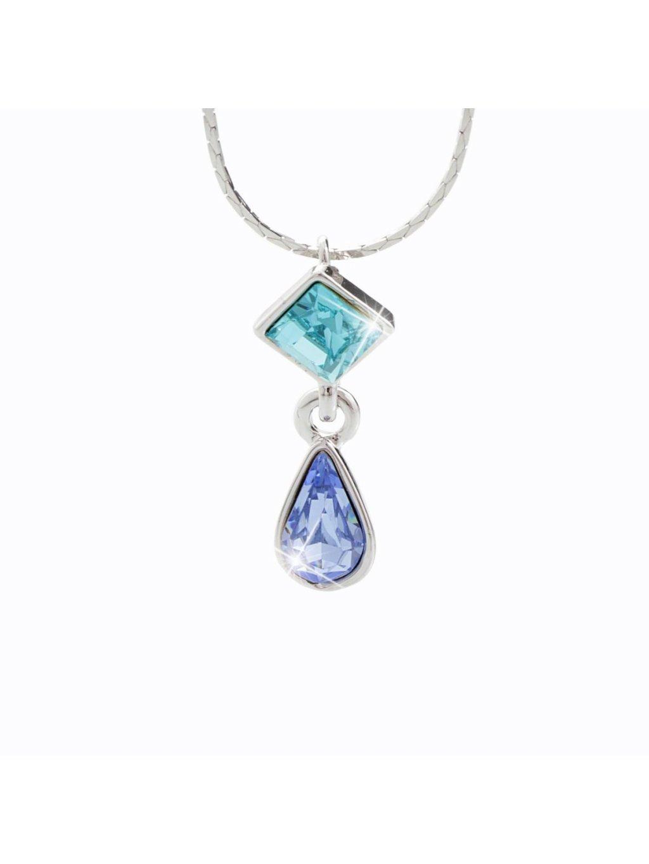 Náhrdelník s kameny Swarovski® Sapphire