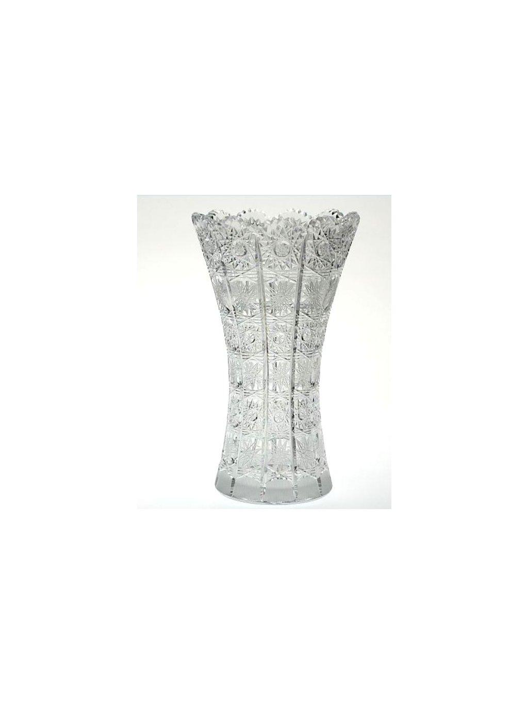 Broušená váza 80029