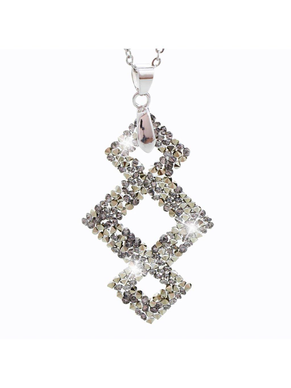 Náhrdelník Triplekos s kameny Swarovski® Multigold