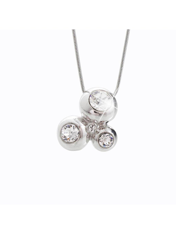 Náhrdelník 3 bubliny s kameny Swarovski® Crystal