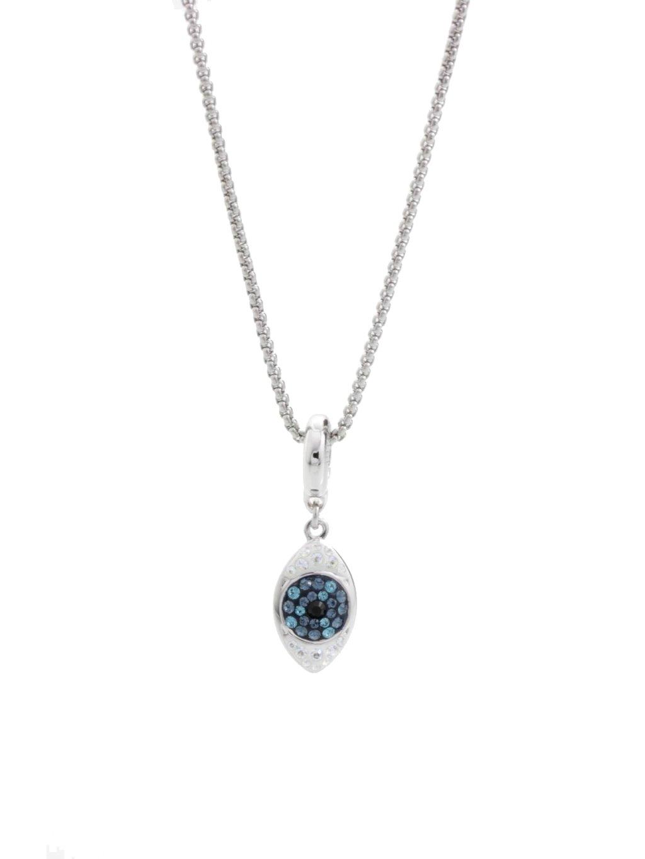 Náhrdelník Oko s kameny Swarovski® Bermuda Blue