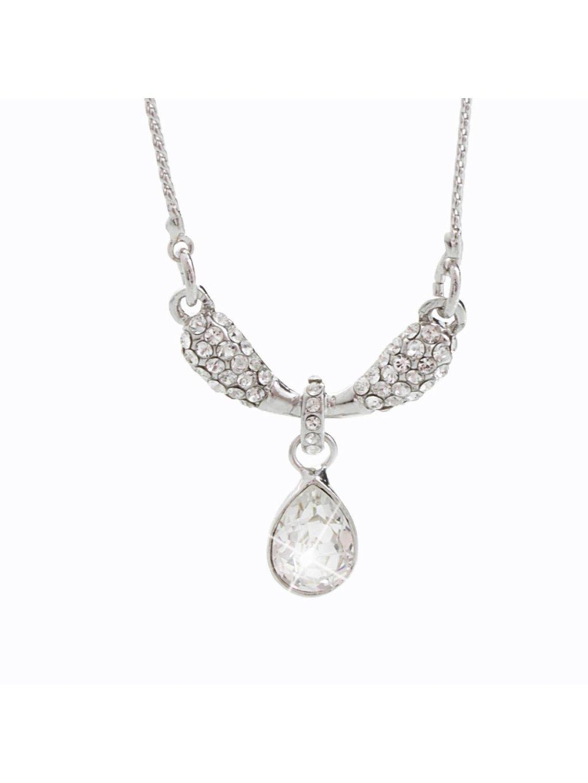 Náhrdelník Kapka na křídlech s kameny Swarovski® Crystal