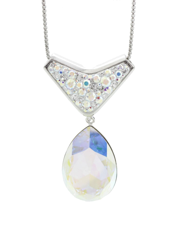 Náhrdelník Kapka s kameny Swarovski® Crystal AB