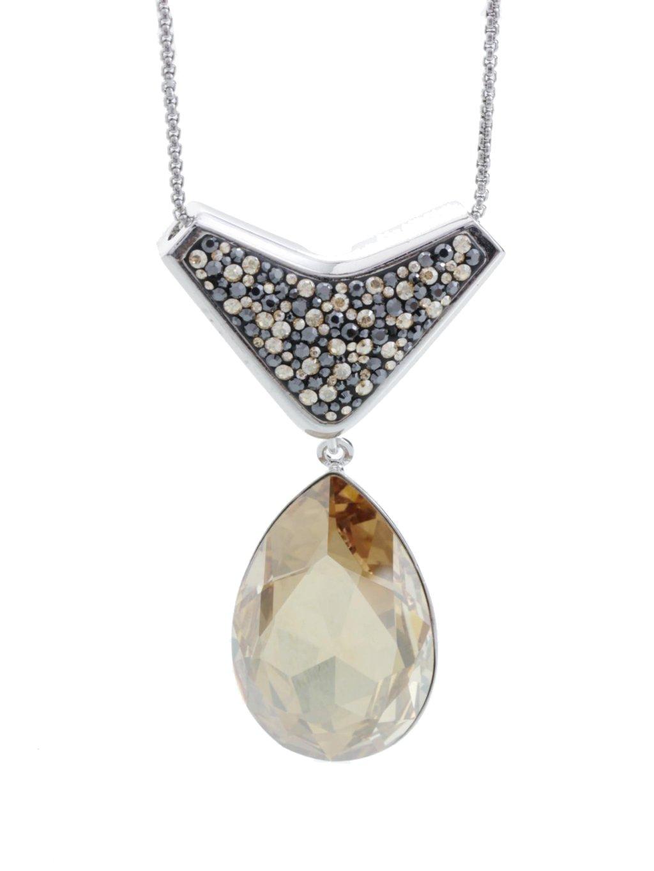 61300417g Náhrdelník Kapka s kameny Swarovski® Gold