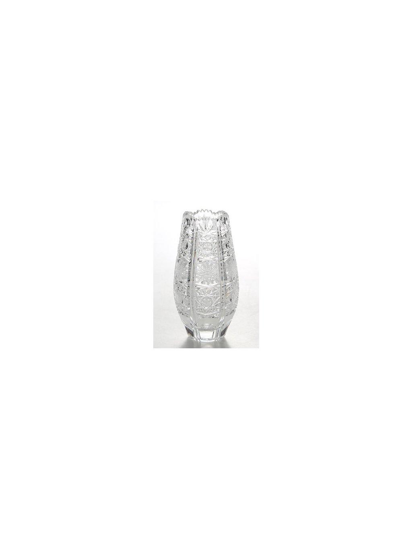 Křišťálová váza brus 25,5 cm 40016