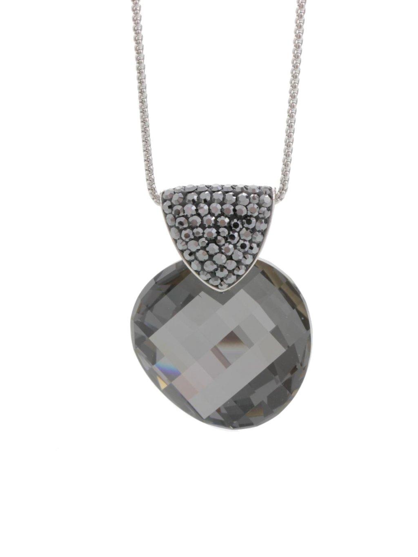 Náhrdelník Erb s kameny Swarovski® Black Diamond