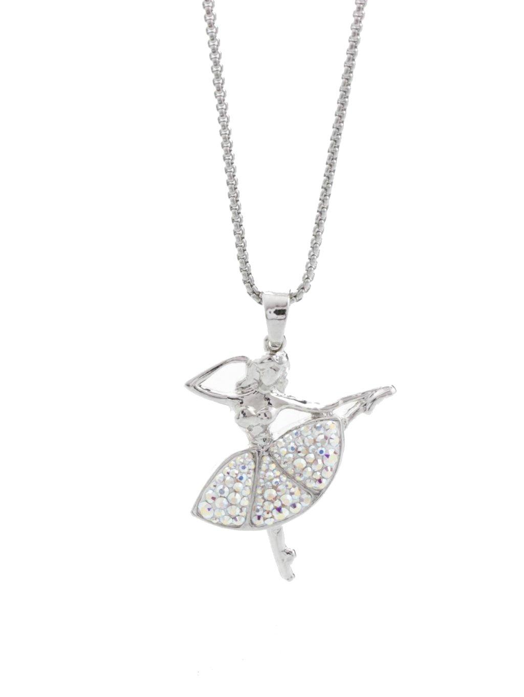 Náhrdelník Baletka s kameny Swarovski® Crystal AB