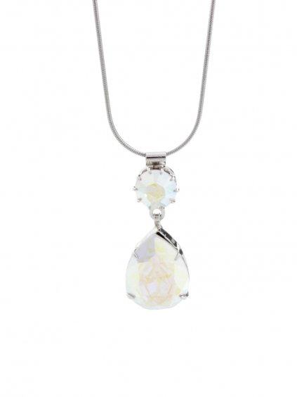 Náhrdelník Drop s kameny Swarovski® Aurore Boreale J61300465AB