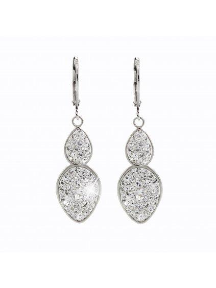 Ocelové náušnice Amulet Swarovski® Crystal 61400471cr
