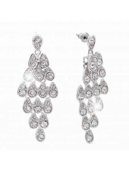Náušnice Drops Swarovski® Crystal 61400486cr