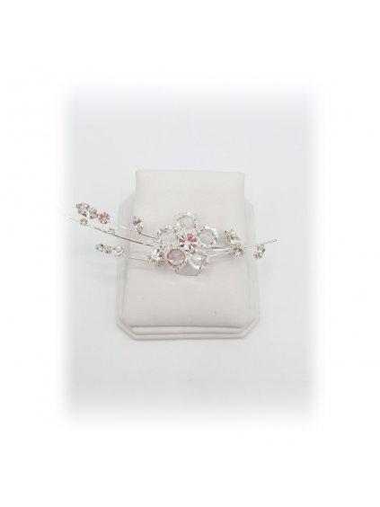 Šanelová brož Květina J74120515/s00ag