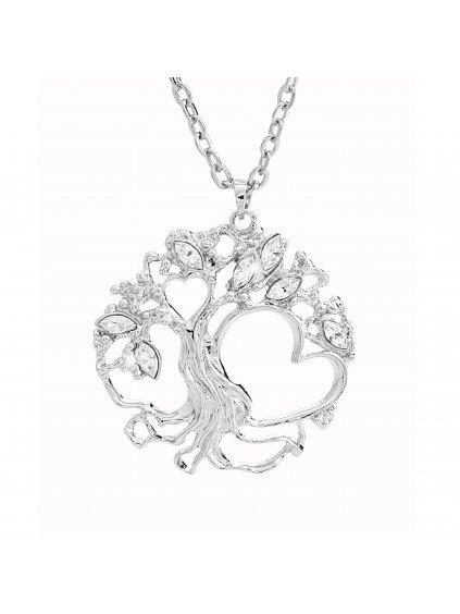 Náhrdelník Strom Života Rodina Swarovski