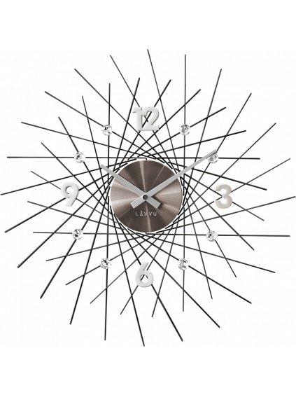 Nástěnné hodiny Evolventa Silver 170093s