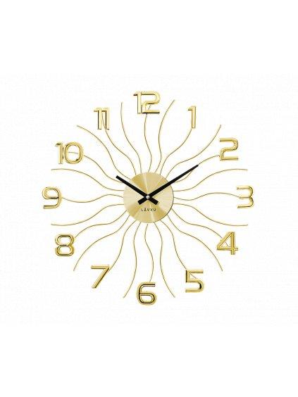 Nástěnné hodiny Vlnka Gold 170090g