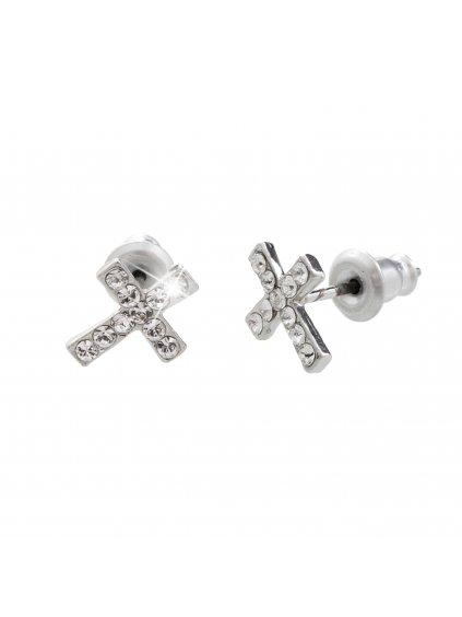 61400378cr (2)Náušnice s kameny Swarovski® Křížky