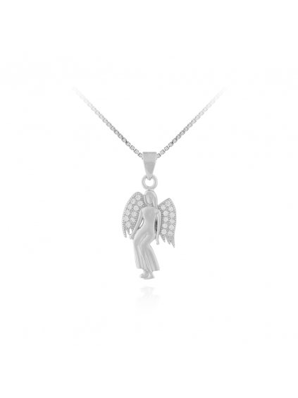 Stříbrný přívěsek Andělská vílaSVLPO518XF3B100