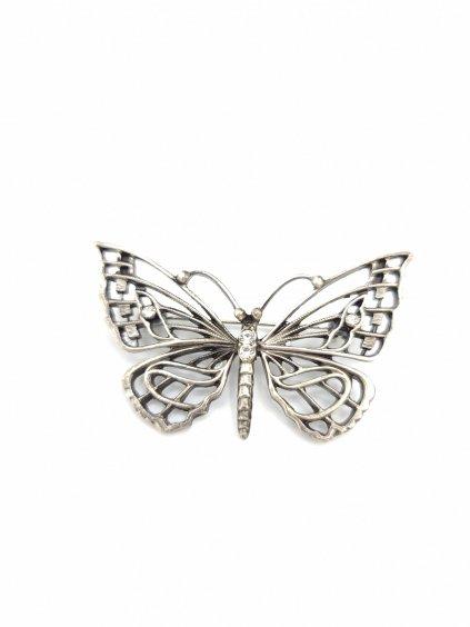 J81600329crBrož Motýl velký