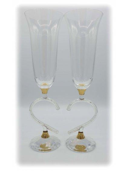 svatebni sklenice sw04g