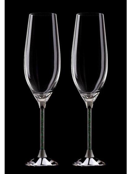 sklenice sekt SW02GR 2ks