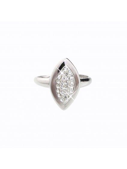 J92700032CR Stříbrný prsten Swarovski® components Naveta I.