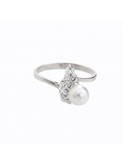 J92700048CR Stříbrný prsten Swarovski® components III.