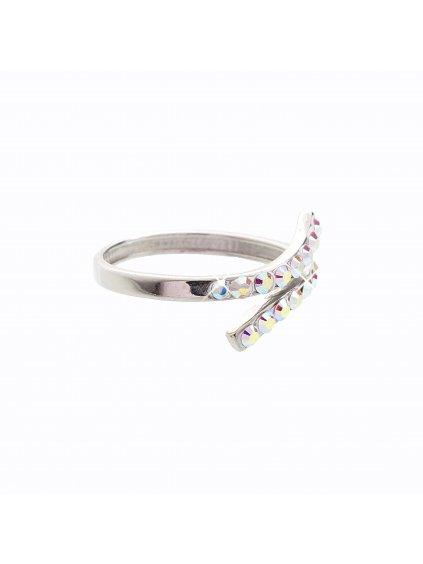 J92700056AB Stříbrný prstýnek Swarovski® components IV.