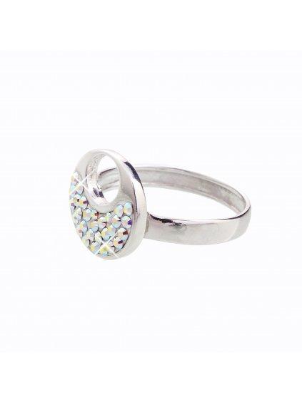 J92700085AB Stříbrný prstýnek Swarovski® components XII.