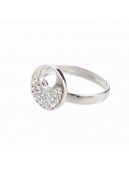 J92700085CR Stříbrný prstýnek Swarovski® components XII.