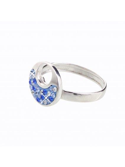 J92700085SAPH Stříbrný prstýnek Swarovski® components XII.