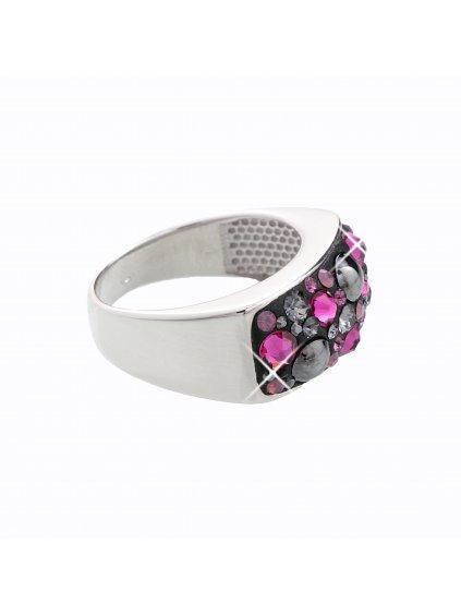 J92700088FUCH Stříbrný prsten Swarovski® components XIII.