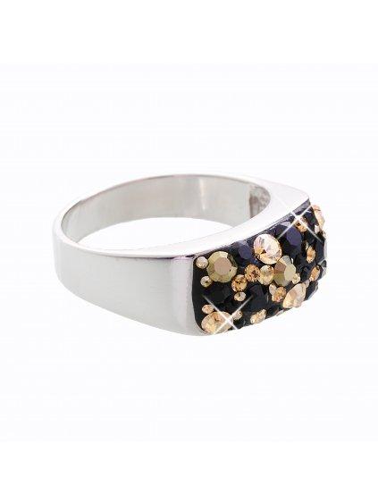 J92700088MIXJET Stříbrný prsten Swarovski® components XIII.